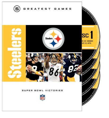 Pittsburgh Steelers Super Bowl Nfl Greatest Games Series Nr 5 DVD
