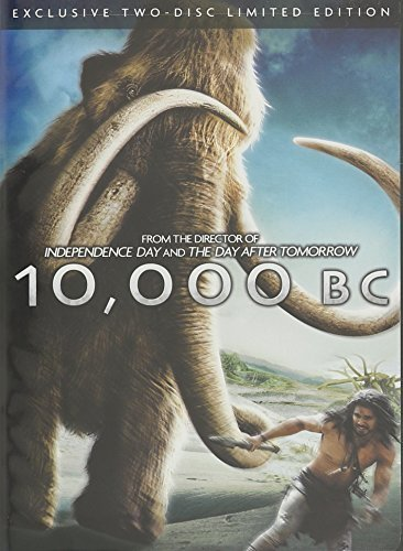 10000 B.C. Limited Ed. Belle Strait Sharif Curtis 2 Disc Set