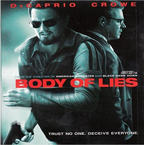 Body Of Lies Dicaprio Crowe Strong Issac Blu Ray Ws R