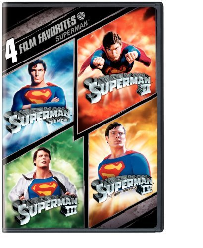 Superman 4 Film Favorites Nr 2 DVD