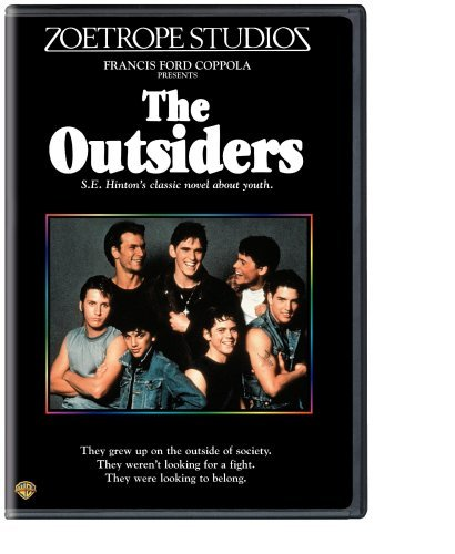 Outsiders Swayze Estevez Howell Dillon DVD Pg13 Ws Fs