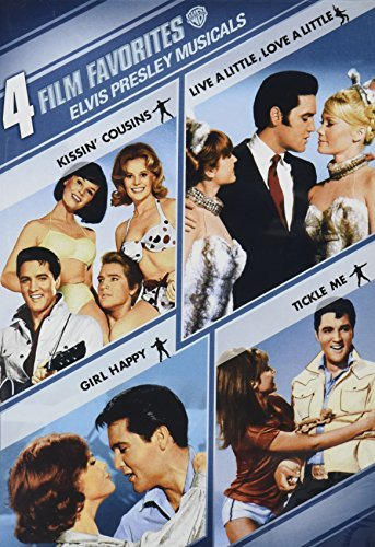 4 Film Favorites Musicals Presley Elvis Nr