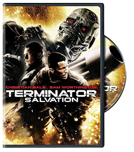 Terminator Salvation Bale Worthington Yelchin DVD R Ws