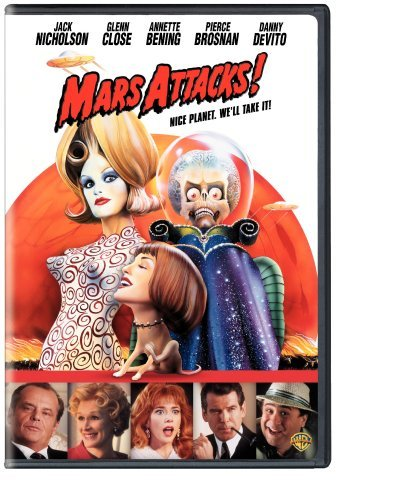 Mars Attacks! Nicholson Close Bening Brosnan DVD Pg13
