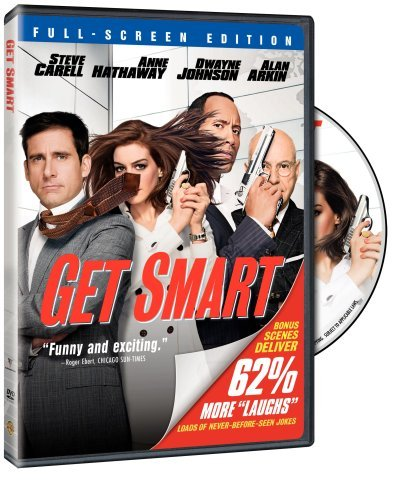 Get Smart (2008) Carell Johnson Hathaway Arkin Pg 13