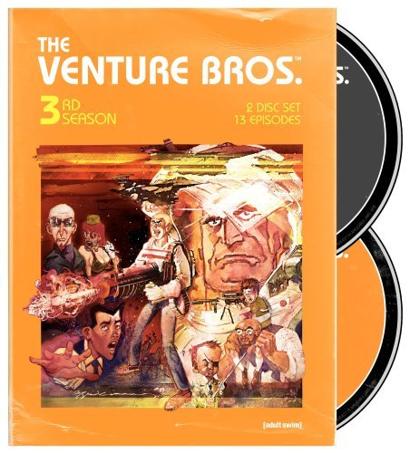 Venture Bros. Season 3 DVD Nr