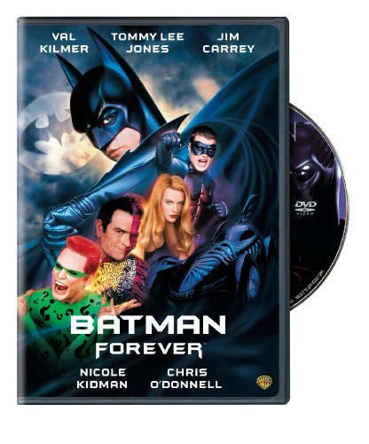 Batman Forever Kilmer Jones Carrey O'donnell DVD Pg13