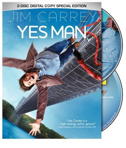 Yes Man Carrey Cooper Deschanel Ws Special Ed. Pg13 2 DVD