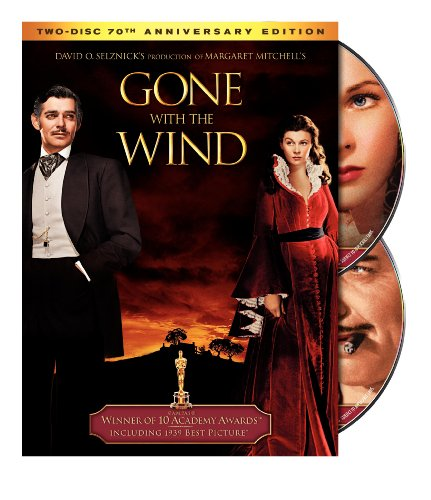 Gone With The Wind Gable Leigh Havilland DVD G