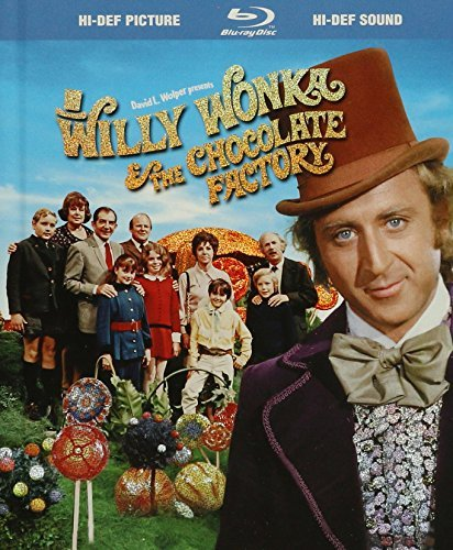 Willy Wonka & The Chocolate Fa Wilder Albertson Ostrum Kinnea Ws Blu Ray Digibook G