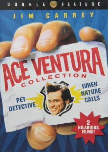 Ace Ventura Double Feature Carrey Jim Ws Fs Nr