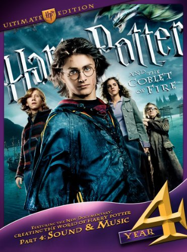 Harry Potter & The Goblet Of F Radcliffe Watson Grint Ultimate Ed. Pg13 3 DVD