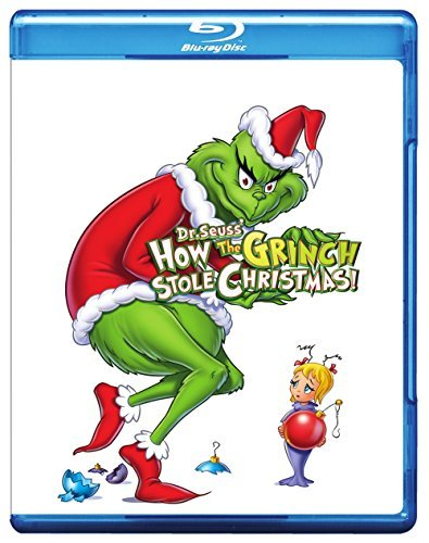 How The Grinch Stole Christmas (1966) Karloff Blu Ray Nr Ws