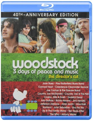 Woodstock 3 Days Of Peace And Music Woodstock 3 Days Of Peace And Music Blu Ray 40th Anniversary