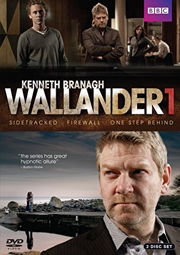 Wallander Sidetracked Firewall One Step Behind Series One Nr 2 DVD