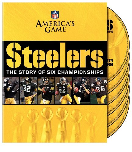 Story Of 6 Championships Nfl Americas Game Pittsburgh Nr 2 DVD