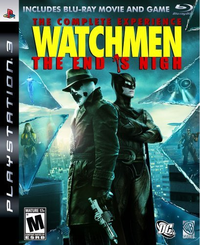 Ps3 Watchmen End Is Nigh Complete Whv Games M Incl. Blu Ray