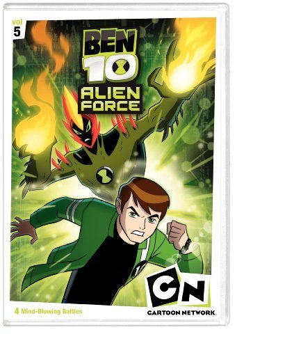 Ben 10 Alien Force Vol. 5 Ben 10 Alien Force Nr