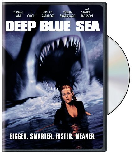 Deep Blue Sea Jackson Burrows Jane Ll Cool J DVD Nr
