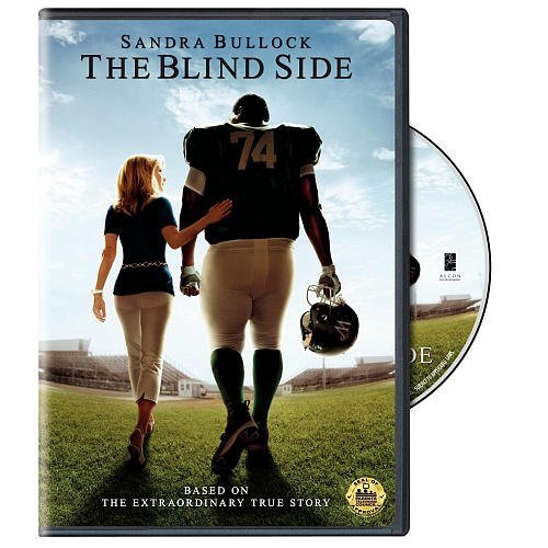 Blind Side Bullock Mcgraw Bates Aaron DVD Pg13 Ws