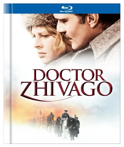 Doctor Zhivago Guinness Chaplin Christie Blu Ray Ws Annv. Ed. Coll Ed. Pg13