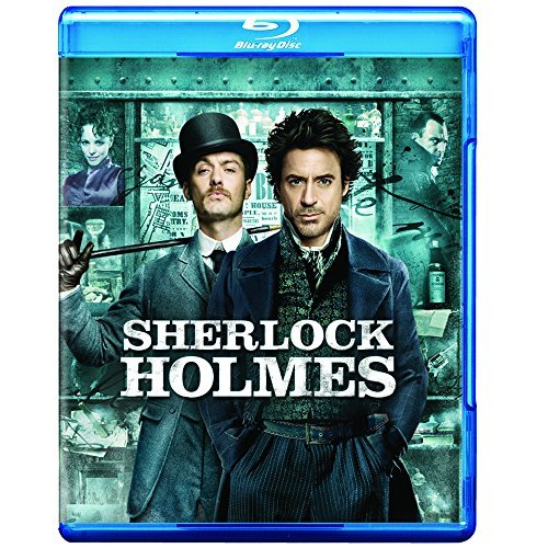 Sherlock Holmes (2009) Downey Law Mcadams Strong Blu Ray Ws Pg13 Incl. DVD Dc