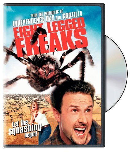Eight Legged Freaks Arquette Wuhrer Terra Johansson DVD Pg13