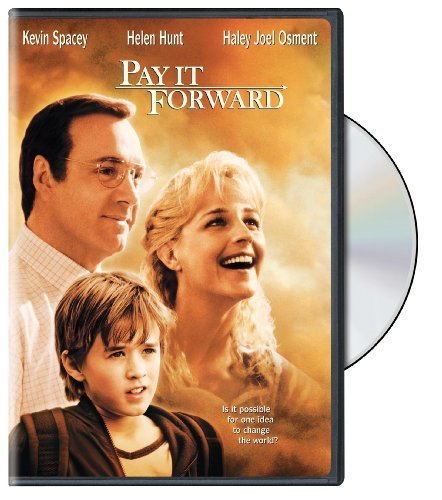 Pay It Forward Spacey Hunt Osment Mohr Ramsey DVD Pg13