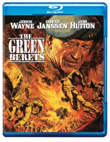 Green Berets Wayne Janssen Hutton Ray Takei Blu Ray Ws Nr