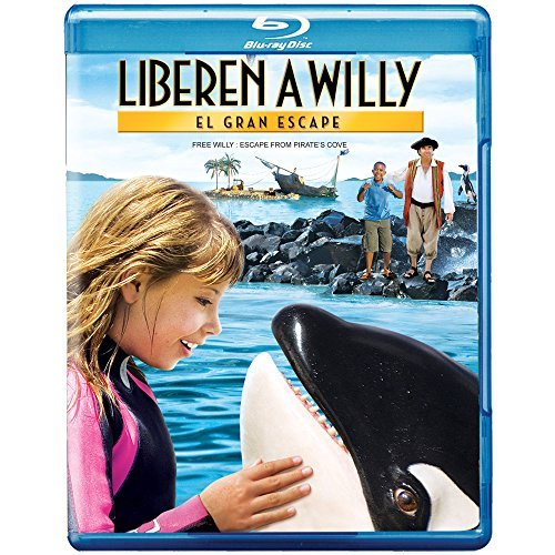 Free Willy Escape From Pirate Irwin Bridges Falkow Mbutuma Blu Ray Ws Nr Incl. DVD Dc