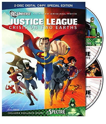 Justice League Crisis On Two Justice League Crisis On Two Ws Special Ed. Pg13 2 DVD