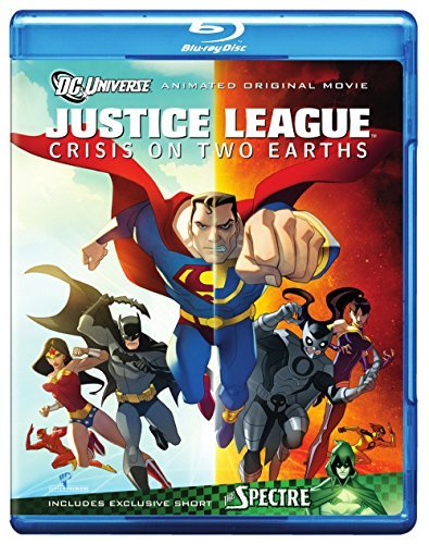 Justice League Crisis On Two Justice League Crisis On Two Ws Blu Ray Pg13 2 DVD