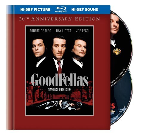 Goodfellas De Niro Liotta Pesci Sorvino Blu Ray Ws 20th Anniv. R