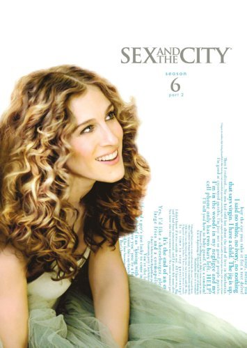 Sex & The City Sex & The City Season 6 Pt. 2 New Package Season 6 Part 2