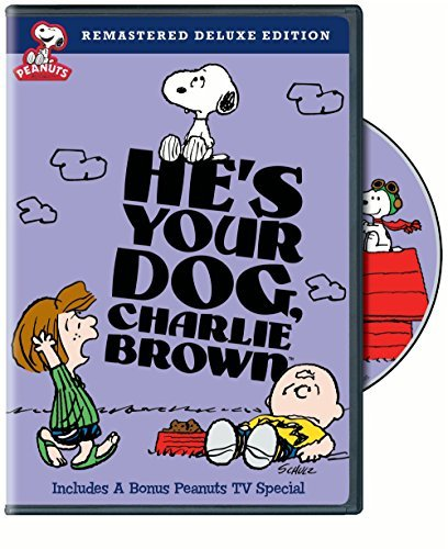 Peanuts He's Your Dog Charlie Brown DVD Nr