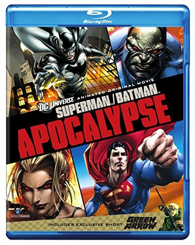 Superman Batman Apocalypse Superman Batman Apocalypse Blu Ray Ws Nr Incl Digital Copy