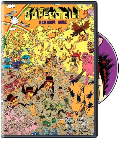 Superjail Season 1 DVD Nr