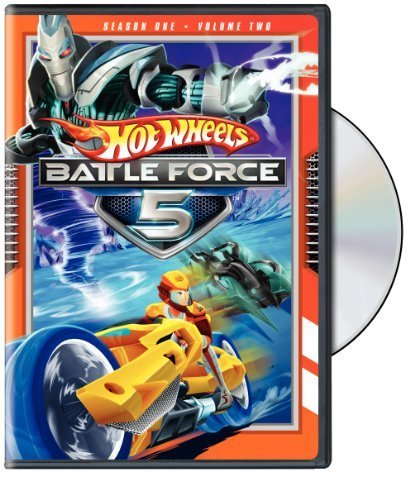 Hot Wheels Battle Force 5 Season 1 Volume 2 DVD Nr