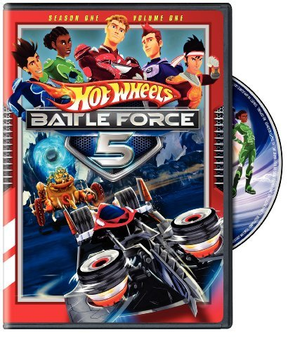 Hot Wheels Battle Force 5 Season 1 Volume 1 DVD Nr
