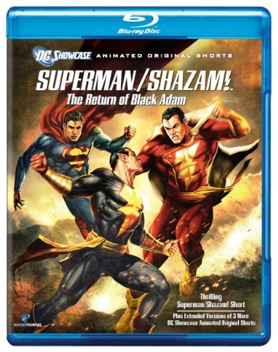 Return Of The Black Adam Dc Showcase Superman Shazam! Blu Ray Ws Nr