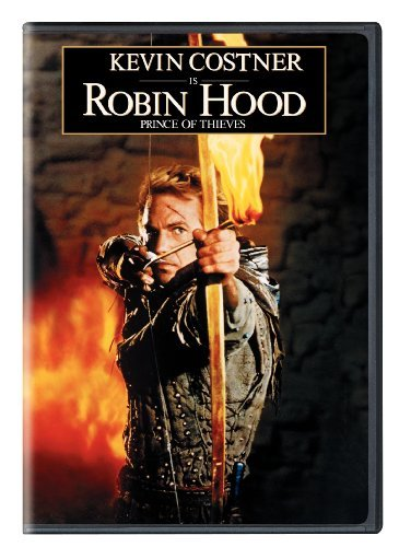 Robin Hood Prince Of Thieves Costner Mastrantonio Freeman DVD Pg13 Ws