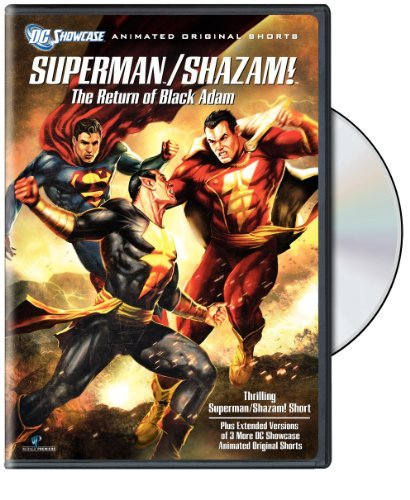 Return Of The Black Adam Dc Showcase Superman Shazam! Nr