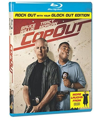 Cop Out Willis Morgan Brody Pollak Blu Ray Ws R Incl. DVD Dc