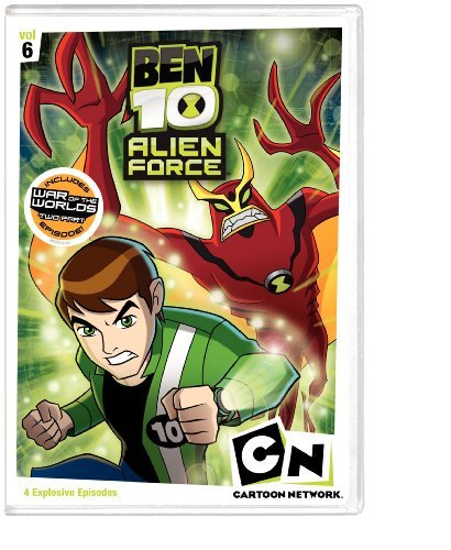 Ben 10 Alien Force Vol. 6 Ben 10 Alien Force Nr