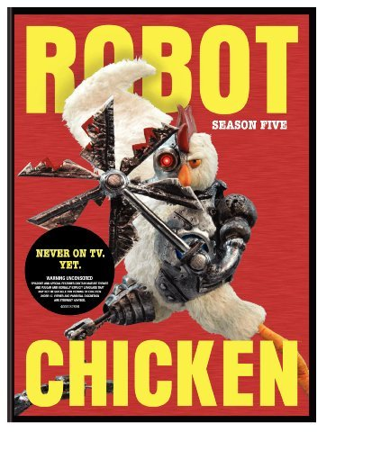 Robot Chicken Season 5 Ws Nr 2 DVD