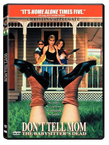 Don't Tell Mom The Babysitters Dead Applegate Cassidy Getz DVD Pg13