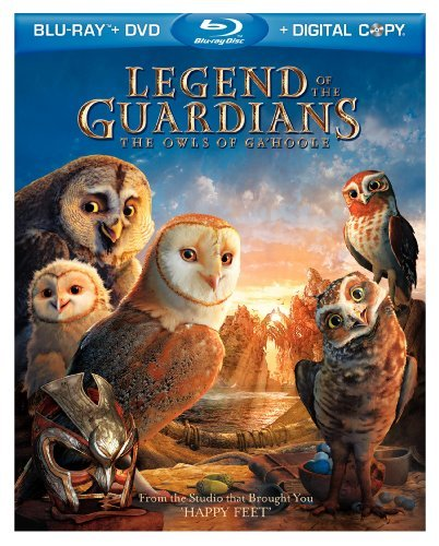 Legend Of The Guardians The O Legend Of The Guardians The O Blu Ray Ws Pg Incl. DVD Dc