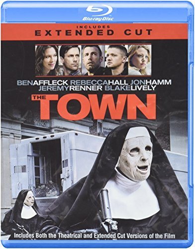 Town Affleck Hall Hamm Blu Ray DVD Dc R