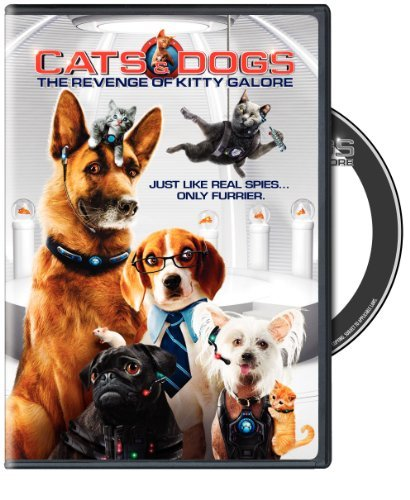 Cats & Dogs The Revenge Of Kitty Galore O'donnell Mcbrayer Armisen DVD Pg