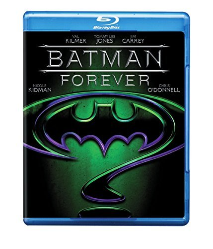 Batman Forever Kilmer Jones Carrey O'donnell Blu Ray Ws Pg13